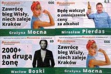 Plakaty o dziwnej treści od kilku dni przyciągają uwagę warszawiaków