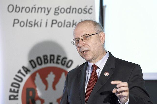 Maciej Świrski, współzałożyciel fundacji Reduta Dobrego Imienia, która wypuszcza aplikację do walki o dobre imię Polski