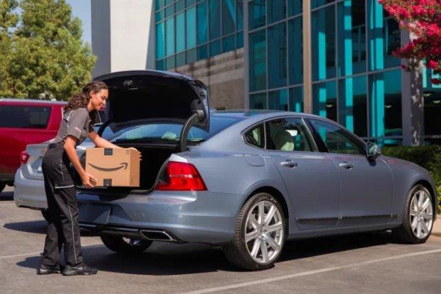 Amazon może teraz dostarczyć paczkę wprost do bagażnika samochodu klienta, zaparkowanego nawet na ulicy