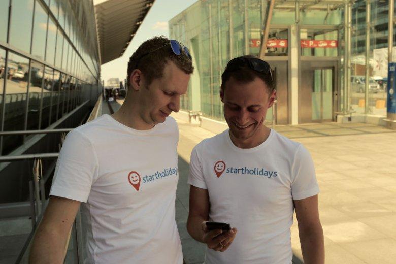 Marcin Grodzicki i Grzegorz Bzówka zdecydowali się na branżę turystyczną, bo była im obu najbliższa.
