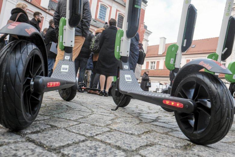 Hulajnogi Lime jeżdżą w kilku miastach w Polsce
