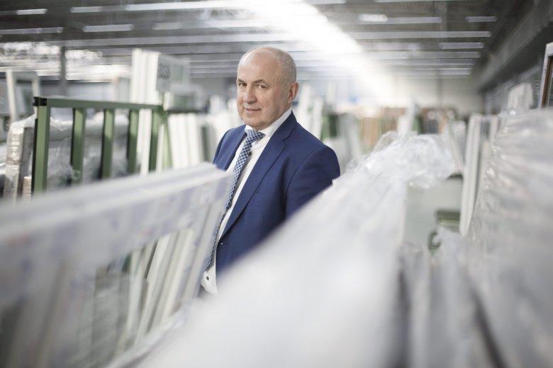 Firma Gierszewskiego produkuje dziennie 5 tysięcy okien, w najbliższym czasie chce podwoić ten wynik.