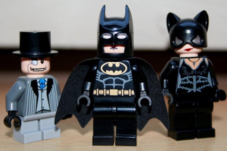 LEGO superbohaterowie na straży sprawiedliwości.
