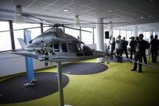 """Tak wygląda biuro projektowe Airbus Helicopters w Łodzi. To właśnie w tym mieście ma powstać linia serwisowa śmigłowca H225M (tzw. """"Caracal"""")."""