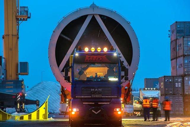 Transport reaktora