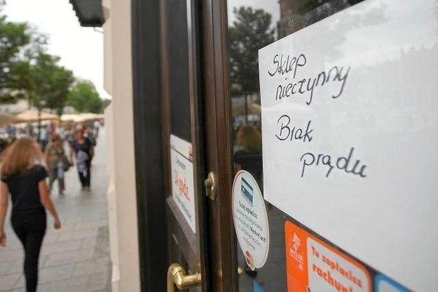 Drożejące ceny energii elektrycznej to także problem dla sklepów
