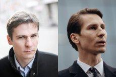 Jakub Płażyński (po lewej) to gdański adwokat, a jednocześnie brat Kacpra Płażyńskiego (po prawej), który kandydował w wyborach na prezydenta Gdańska z ramienia PiS.