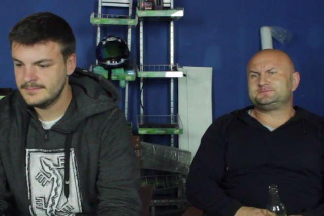 """Paweł """"Koza"""" Kozerski i Grzegorz Zacharjasiewicz, obecnie jedyni członkowie Pyty."""