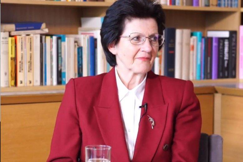 Prof. Leokadia Oręziak jest kierowniczką Katedry Finansów Międzynarodowych Szkoły Głównej Handlowej w Warszawie. Ostro skrytykowała niedawne porządki emerytalne rządu