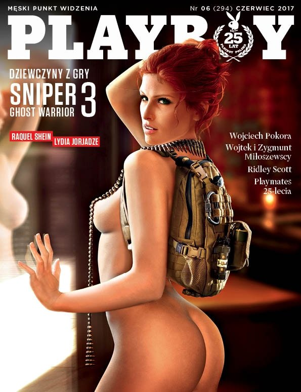 Dziewczyna ze Snipera bohaterkąnajnowszej sesji w Playboyu.