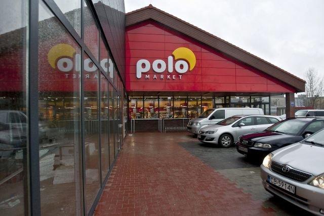 Polomarket w Bydgoszczy, przy ul. Fordońskiej. PiP wykryła tu nieprawidłowości