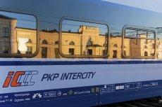 Pociąg bydgoskiej PESY, Dart, na dworcu w Białymstoku.