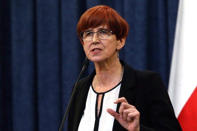 Minister Pracy, Elżbieta Rafalska.