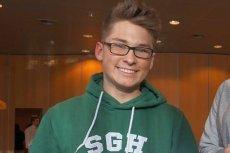 Karol Droździk - student, który wysłał CV i list motywacyjny w butelce po szampanie