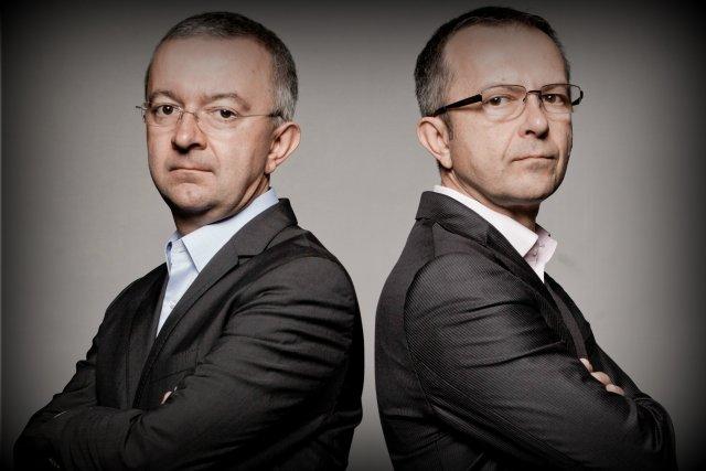 Adam i Jerzy Krzanowscy Prezes Zarządu i Wiceprezes Zarządu Grupy Nowy Styl, którzy wykupili dwie niemieckie firmy i jedną szwajcarską.