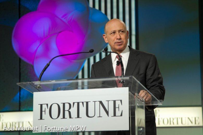 Prezes Goldman Sachs – Lloyd Blankfein.