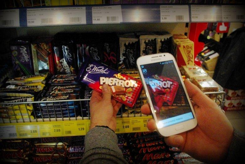Na półce ze słodyczami również znaleźliśmy firmy, które kiedyś były polskie, ale zostały sprzedane