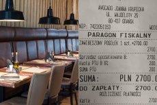 Restauracja Avocado Vegan Bistro pochwaliła się na Facebooku paragonem z zawieszonego posiłku.