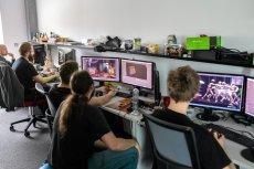 Biura firmy Bloober Team w Krakowie. Firma otrzymała właśnie decyzję o przyznaniu ogromnej, 7-milionowej dotacji na prace B&R.