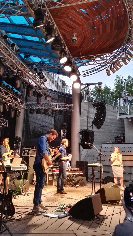 Zespół Byen podczas Halfway Festival