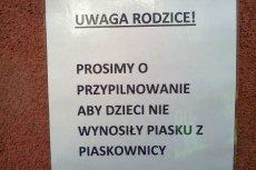 Absurd? Cała Polska jest obklejona komunikatami formatu A4