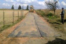 Budowa gumowej drogi w gminie Kisielice