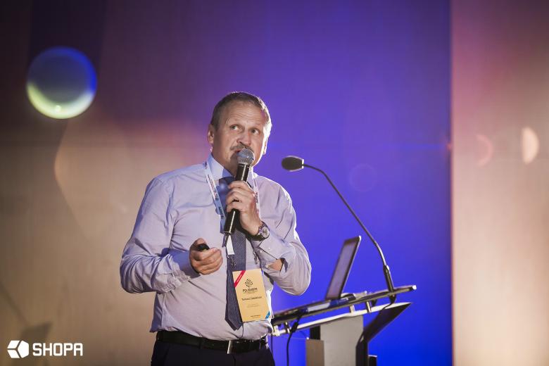 Tomasz Zaboklicki, opowiadał o świadomym projektowaniu jako czynniku sukcesu PESA Bydgoszcz S.A.