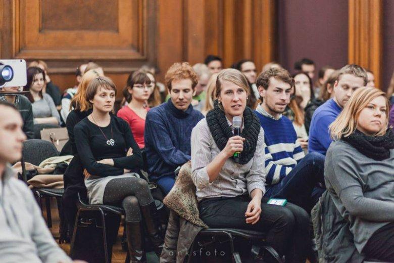 Publiczność podczas grudniowego spotkania GGC Poznań.