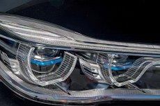 Laserowe reflektory tej limuzyny kosztują ok. 15 tysięcy złotych. Ale są silniejsze od LED-ów, pobierając przy tym mniej energii