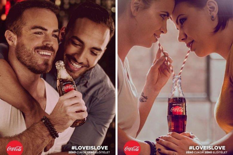 Węgierski poseł partii rządzącej nawołuje do bojkotu Coca-Coli z powodu plakatów, w której pojawiają się pary homoseksualne. Amerykański koncern nie zamierza ugiąć się pod naciskiem.