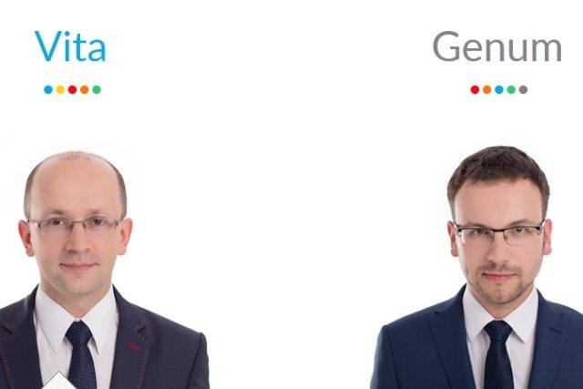 Założyciele firmy: Dr inż. Tomasz Czernecki oraz Dr inż. Adam Kuzdraliński