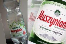 Nie trzeba być biegłym sądowym, by dostrzec, że butelka wody Saguaro Muszyńskie wygląda bardzo podobnie do Muszynianki.
