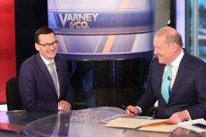 Premier Mateusz Morawiecki udzielił wywiadu amerykańskiej telewizji Fox News.