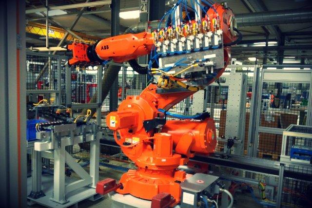 Jedna z maszyn, którą zaprogramowało Control Solutions