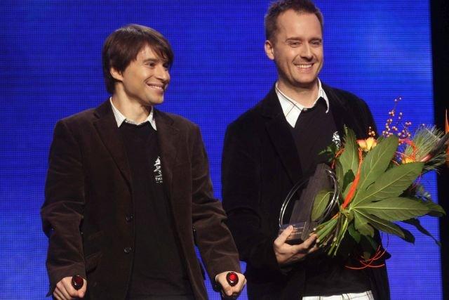 Michał Kiciński i Marcin Iwiński w 2008 roku zostali nagrodzeni tytułem Przedsiębiorców Roku. Od tamtej pory niewiele się zmienili