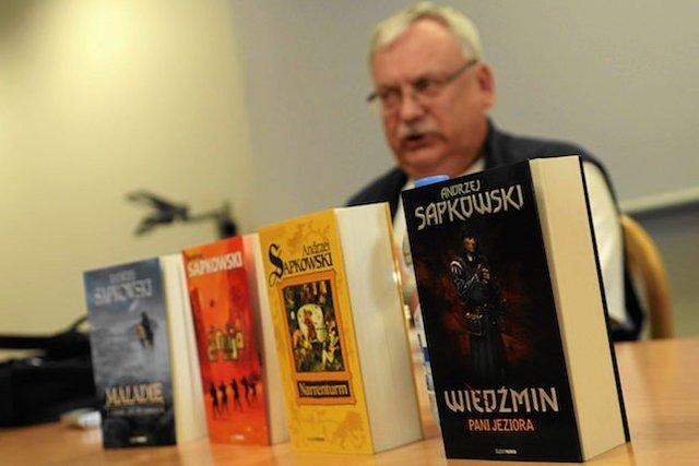 Andrzej Sapkowski jeszcze przed pojawieniem się gry sprzedał w Polsce 2 mln książek