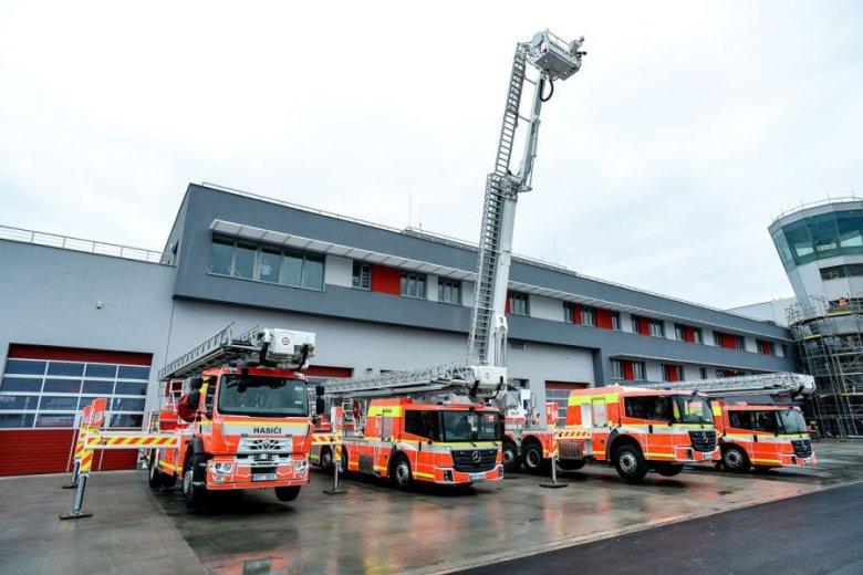 Pojazdy strażackie WISS na Słowacji