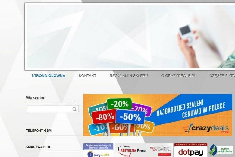 Klienci CrazyDeals.pl twierdzą, że zostali oszukani przez sklep