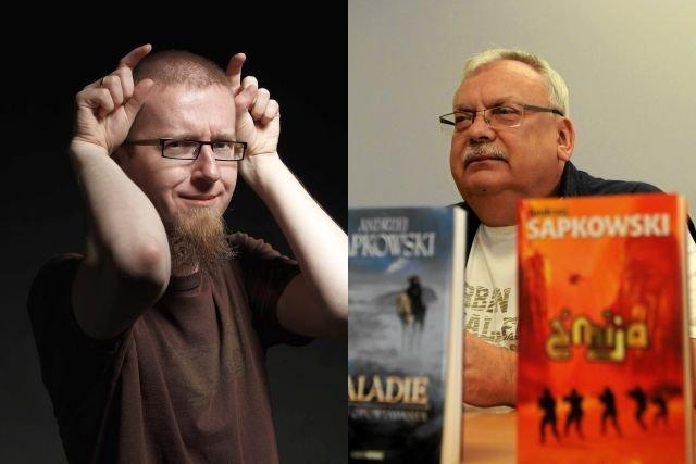 Tomasz Bagiński i Andrzej Sapkowski