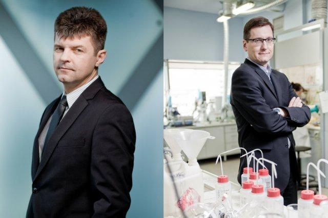 Założyciele Selvity: Bogusław Sieczkowski i Paweł Przewięźlikowski.