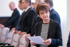 Maria Wasiak, minister infrastruktury i rozwoju