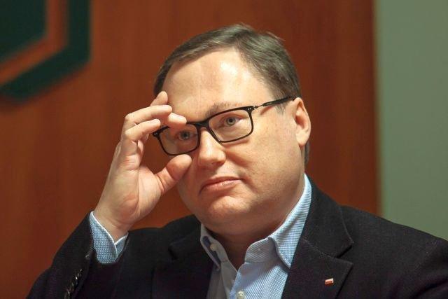 Senator Grzegorz Bierecki, główny twórca obecnego systemu SKOK-ów