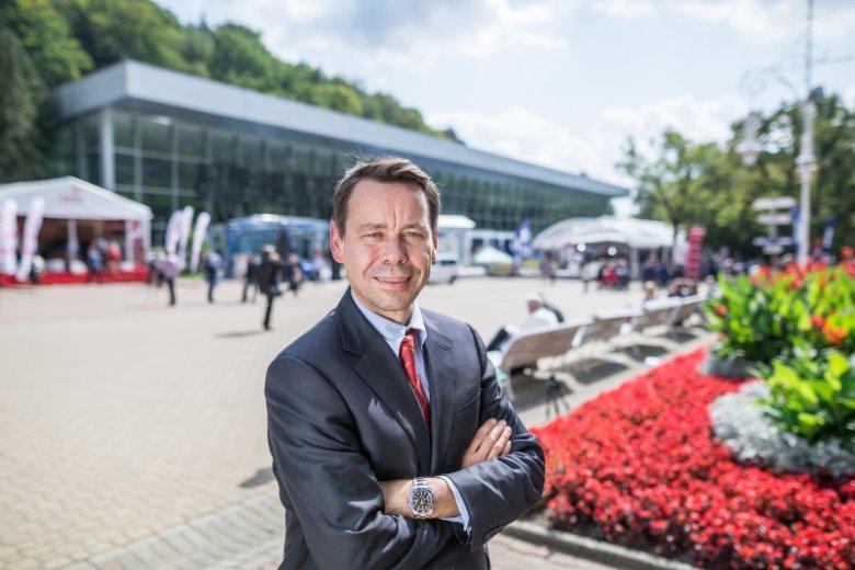 Steven Harman - wiceprezes ds. operacyjnych Amazon w Europie