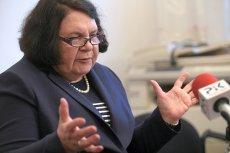 Posłanka PiS Anna Sobecka od dawna postuluje, by rząd zrobił coś z zawieszaniem prawicowych kont na Facebooku.