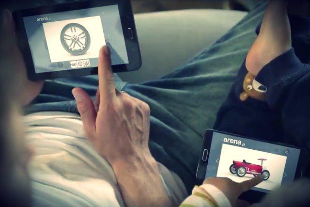 Arena.pl ruszyła z kampanią reklamową nowej platformy zakupowej, w reklamach wystąpili polscy sportowcy, rajdowiec Tomasz Kuchar i Mariusz Czerkawski