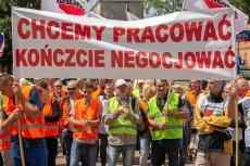 Częstochowscy hutnicy walczą o jak najszybsze zakończenie negocjacji i wznowienie produkcji