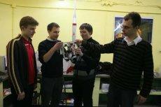 Studenci z Koła Naukowego Politechniki Warszawskiej, którzy w 2010 r. przygotowali projekt SCOPE 2.