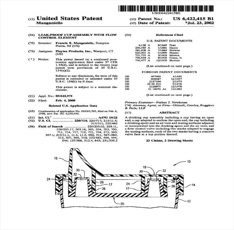 Analizowany patent