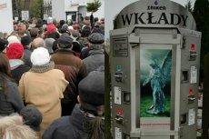 Automaty do sprzedawania zniczy są coraz powszechniejsze na polskich cmentarzach
