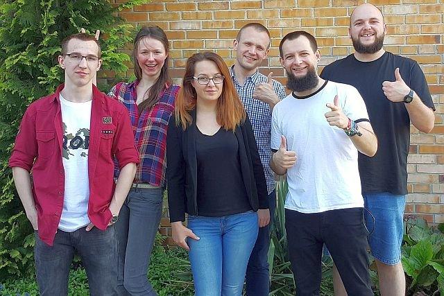 Europejscy zwycięzcy GOMC 2017: Michał Paszyn (kapitan), Marek Buliński (wice), Damian Koniuszy, Kamila Malanowicz, Kamil Poturalski, Aneta Disterheft